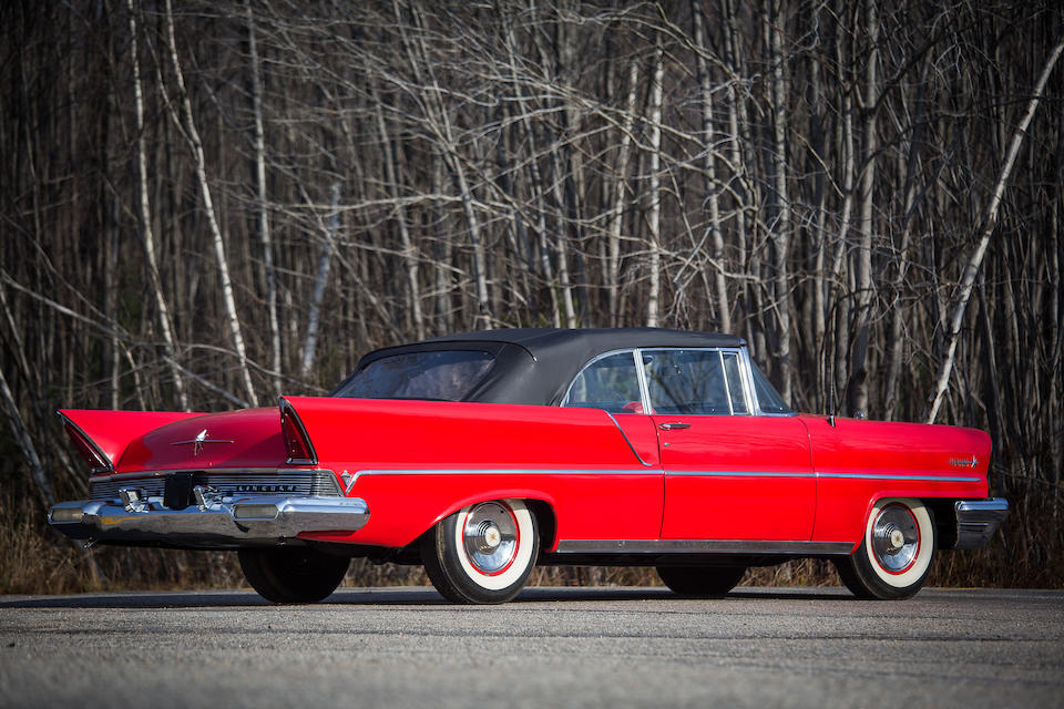 From the Estate of Eugene Beardslee,1957 Lincoln Premiere Convertible  Chassis no. 57WA20832L