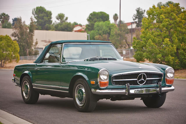 1971 Mercedes-Benz 280SL Roadster  Chassis no. 113044-12-018607 Engine no. 130-983-2-014302