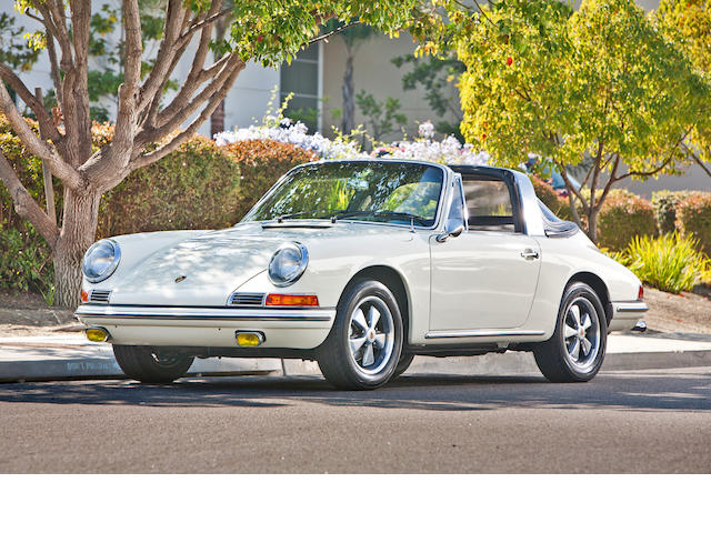 1967 Porsche 911 Targa Soft Window  Chassis no. 500701 Engine no. 912049