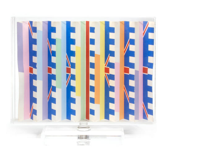 Yaacov Agam (Israeli/French, born 1928); Celebration (Double-Sided);