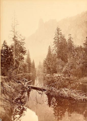 Carleton E. Watkins (American, 1829-1916); The Sentinel, Yosemite;
