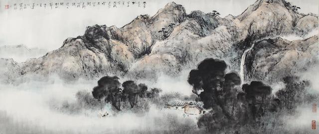 Yang Shanshen (1913-2004) Landscape