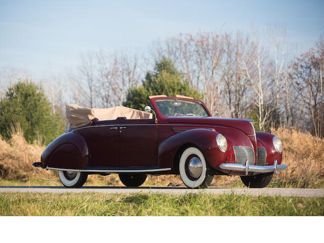1938 Lincoln Zephyr Four Door Convertible