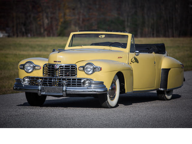1948 Lincoln Continental Convertible  Engine no. CH171796