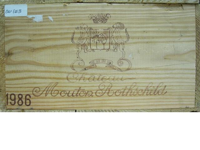 Château Mouton Rothschild 1986 (12)