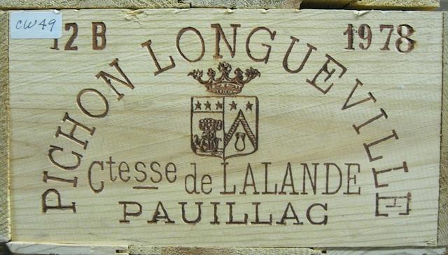 Château Pichon-Lalande 1978 (12)