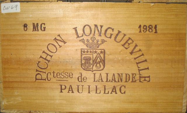 Château Pichon-Lalande 1981 (6M)