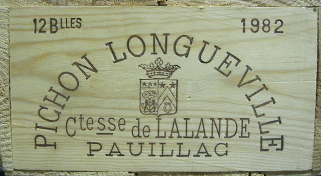Château Pichon-Lalande 1982 (12)