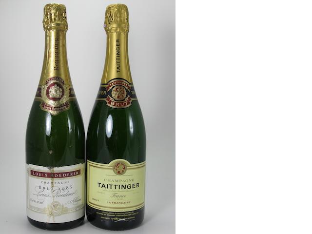Andre Drappier Vintage Champagne 1979 (1)<BR />Louis Roederer Vintage Champagne 1985 (1)<BR />Medot Vintage Champagne 1981 (2)<BR />Medot Vintage Champagne 1980 (3)<BR />Medot Champagne NV (1)<BR />Taittinger Champagne NV (2)