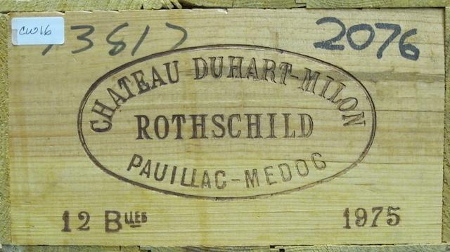 Château Duhart-Milon 1975 (12)