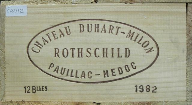 Château Duhart-Milon 1982 (12)