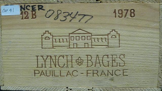 Château Lynch-Bages 1978 (12)