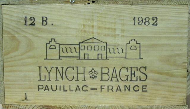 Château Lynch-Bages 1982 (12)