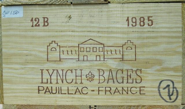 Château Lynch-Bages 1985 (10)