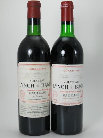 Château Lynch-Bages 1970 (11)  Château Lynch-Bages 1979 (5)