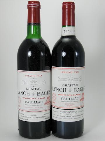 Château Lynch-Bages 1983 (11)<BR />Château Lynch-Bages 1989 (1)