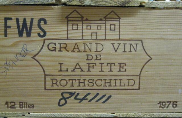Château Lafite Rothschild 1976 (12)