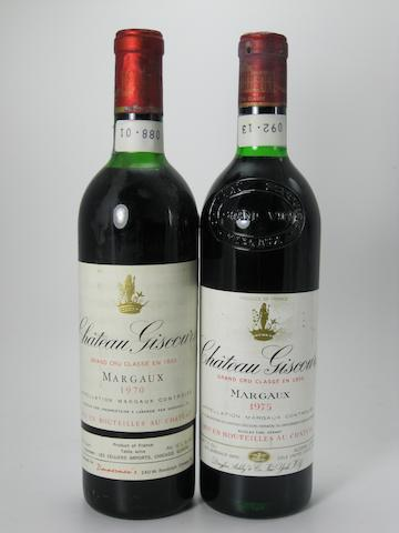 Château Giscours 1970 (5)<BR />Château Giscours 1975 (6)
