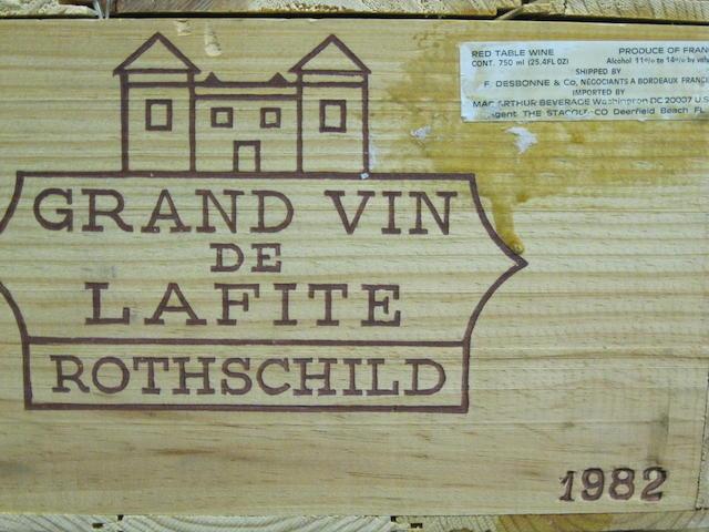 Château Lafite Rothschild 1982 (12)