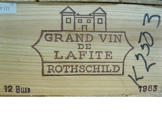 Château Lafite Rothschild 1983 (11)