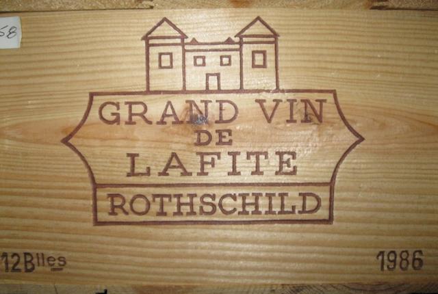 Château Lafite Rothschild 1986 (12)