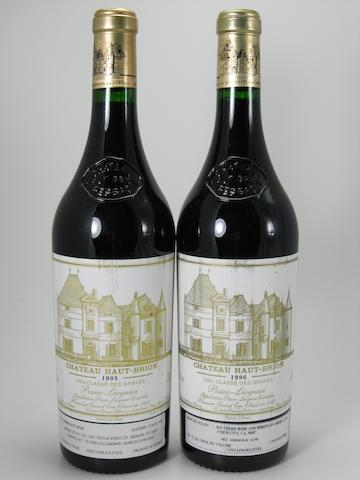 Château Haut-Brion 1995 (2)  Château Haut-Brion 1996 (2)