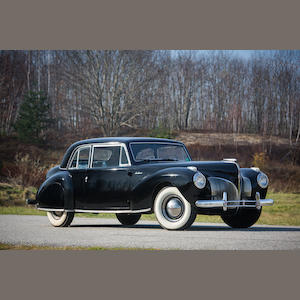 1941 Lincoln Continental Coupe  Chassis no. H114613
