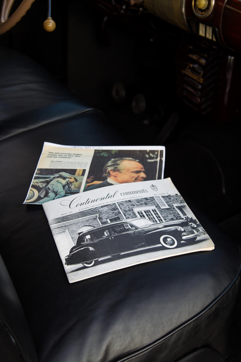 1941 Lincoln Custom Limousine  Chassis no. H124660