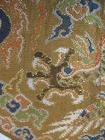 Two circular dragon insignia badges<BR /> Ming dynasty