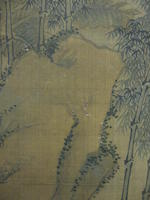 After Qiu Ying (19th century) Scholar Inscribing a Rock