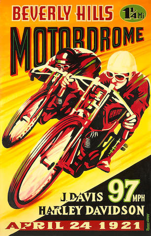 Robert Carter, Beverley Hills Motordrome,