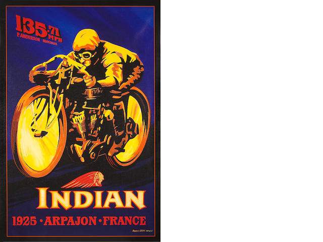 Robert Carter, Indian 8 Valve,