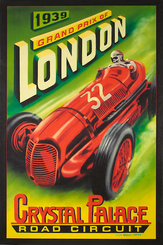 Robert Carter, London Grand Prix,