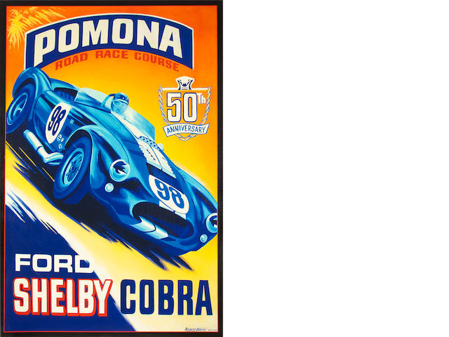 Robert Carter, Shelby Cobra 50th,