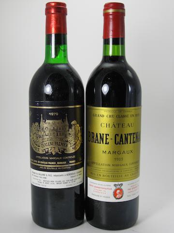 Château Palmer 1979 (5)<BR />Château Brane-Cantenac 1983 (7)