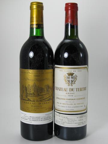 Château d'Issan 1983 (11)<BR />Château du Tertre 1979 (7)