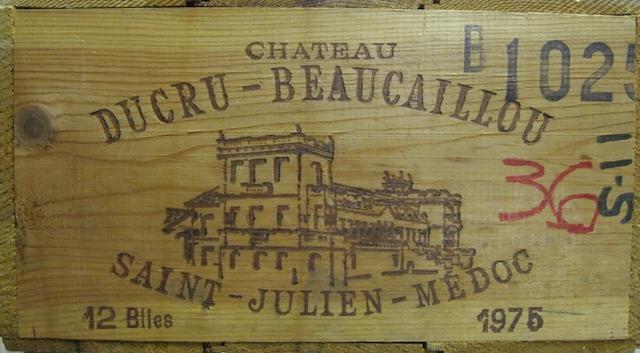 Château Ducru-Beaucaillou 1975 (12)