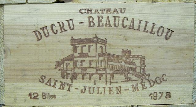 Château Ducru-Beaucaillou 1978 (12)