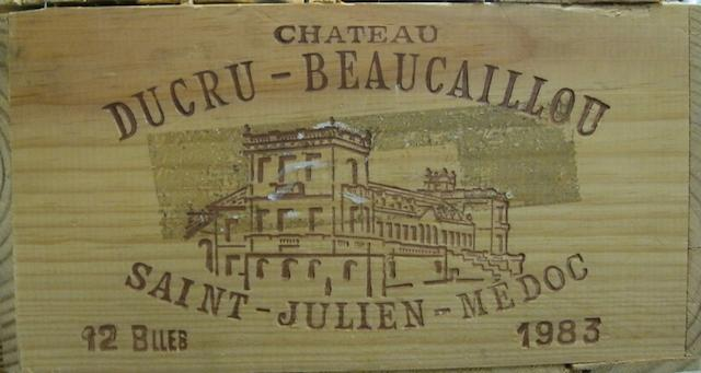 Château Ducru-Beaucaillou 1983 (12)