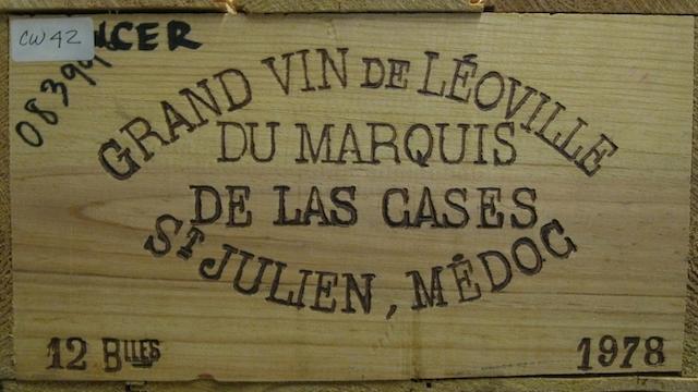 Château Léoville-Las-Cases 1978 (12)
