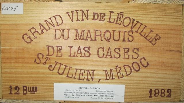 Château Léoville-Las-Cases 1982 (12)