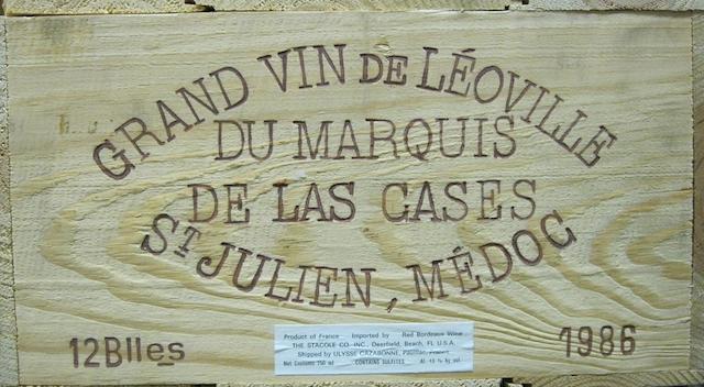 Château Léoville-Las-Cases 1986 (12)