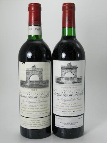 Château Léoville-Las-Cases 1975 (1)<BR />Château Léoville-Las-Cases 1983 (11)