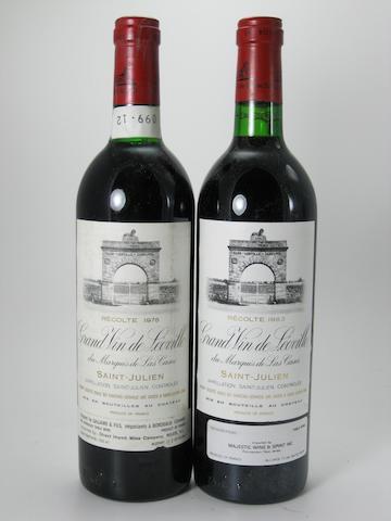 Château Léoville-Las-Cases 1978 (2)<BR />Château Léoville-Las-Cases 1983 (10)