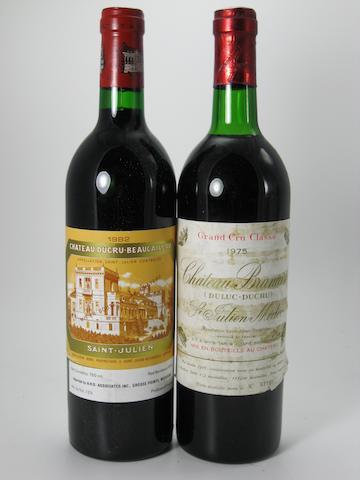 Château Branaire-Ducru 1975 (1)<BR />Château Branaire-Ducru 1982 (11)