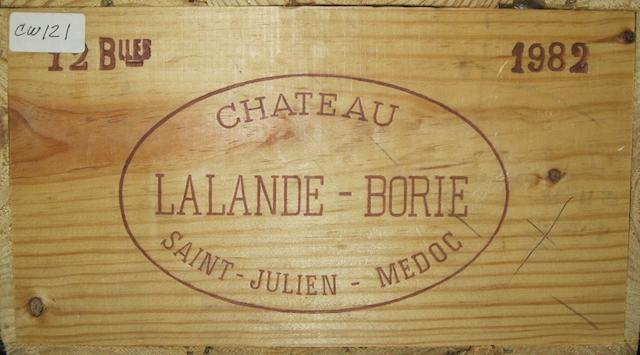 Château Lalande-Borie 1982 (12)