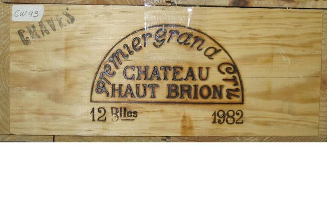 Château Haut-Brion 1982 (12)