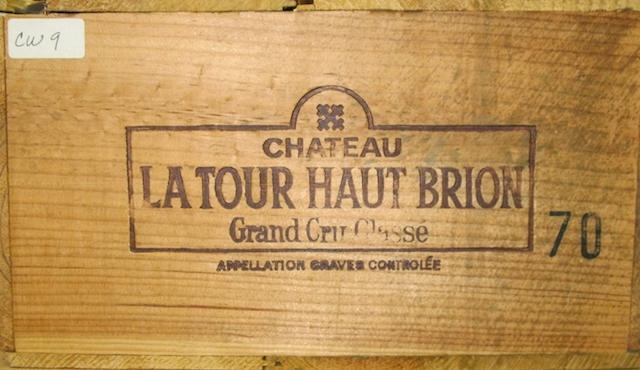 Château La Tour Haut Brion 1970 (12)