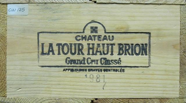 Château La Tour Haut Brion 1981 (12)
