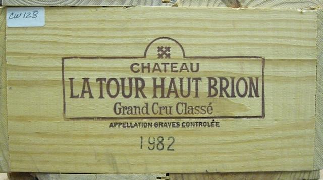 Château La Tour Haut Brion 1982 (12)